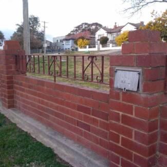 Antique wrought Iron Fence & Gates