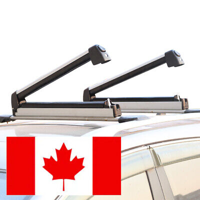 Premium Car Roof Top Ski Rack Snowboard Rack Ski Carrier With Sliding Arm Sale!