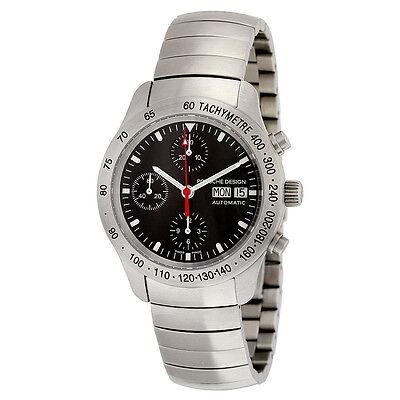 Porsche Design Black Chronograph Dial Stainless Steel Mens Watch 66054140135