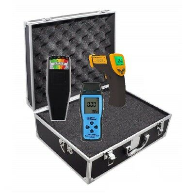 Paranormal Ghost Hunting Equipment Kit with K2, Digital EMF, and Temp Gun