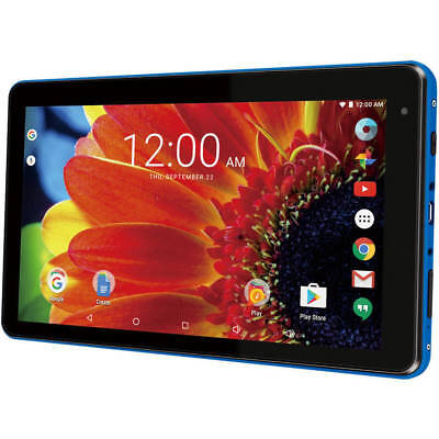 """RCA Voyager 7"""" 16GB Tablet Quad Core Android - BLUE (RCT6873W42) - NEW™"""