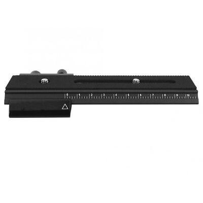2 Way Macro Focusing Rail Slider QR Plate Photography For Digital DSLR Camera