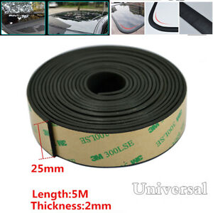 Universal 5M 25mm Car Windshield Sealant Rubber Triangular Window Sealed Strips