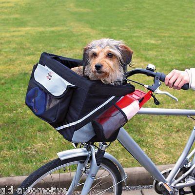 Cestino per bici per cani e gatti Trixie per cane Front-Box  38×25×25cm  max 6KG