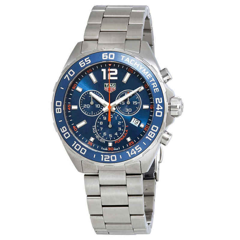 Tag Heuer Formula 1 Chronograph Blue Dial Men's Watch CAZ1014.BA0842 - watch picture 1