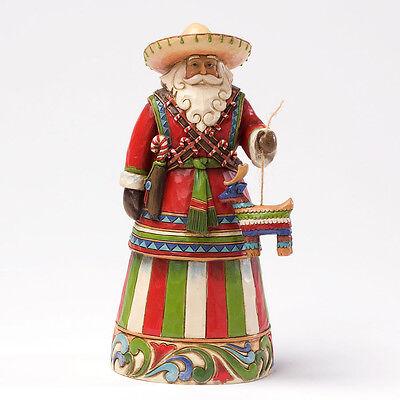 Jim Shore Mexican Santa Christmas Figurine ~ 4027705