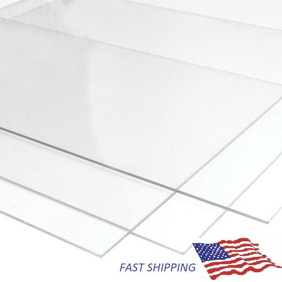 Uxcell 2 Mm Clear Perspex Acrylic Cut Plexiglass Sheet A4 Size 210 Mm X 297 Mm For Sale Online Ebay