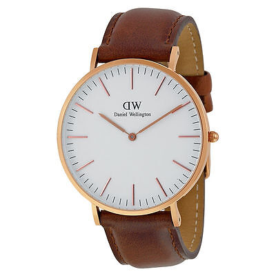 Daniel Wellington 0106DW Classic St Mawes Mens Watch With Brown Band