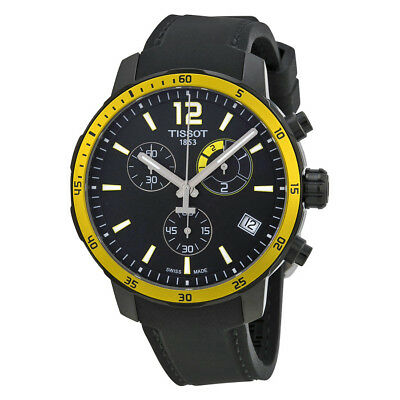 Tissot Quickster Soccer World CupBlack Silicone Mens Watch TIST0954493705700