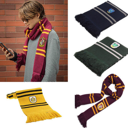 Harry Potter Schal Kappe Groß Gryffindor Hufflepuff Slytherin Ravenclaw Geschenk