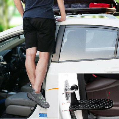 Folding Car Door Latch Hook Step Mini Foot Pedal Ladder for Jeep SUV Truck Roof, used for sale  China