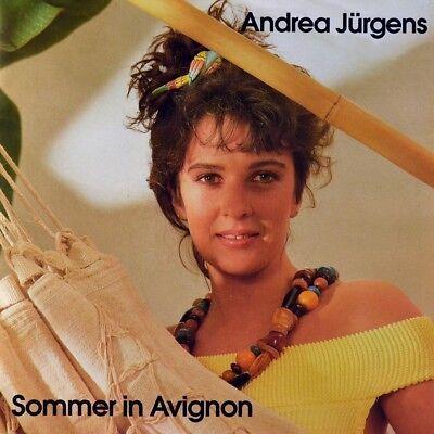 """7"""" ANDREA JÜRGENS Sommer in Avignon / Der nächste Tanz JACK WHITE 1991 NEUWERTIG"""