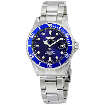 Invicta Mako Pro Diver Blue Dial Men's Stainless Steel Watch 9204OB