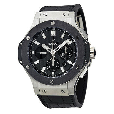 Hublot Big Bang Evolution Carbon Fiber Chronograph Mens Watch 301.SM.1770.GR