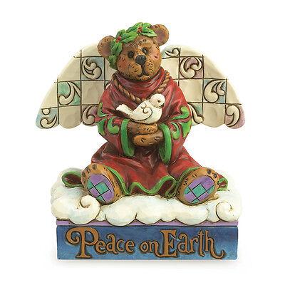 Jim Shore & Boyds Bears Peace Angel Bear Figurine ~ Celeste ~ 4035826 ()