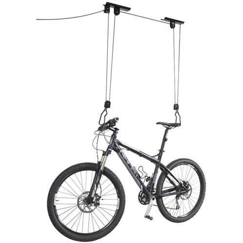 Nieuw fietslift fiets ophangen opbergen gratis for Opbergsysteem schuur