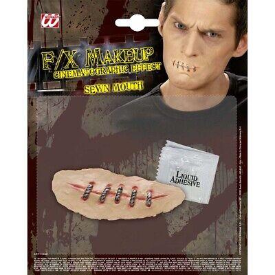 # Halloween zugenähter genähter getackerte Narbe Horror 4155 (Narbe Halloween)