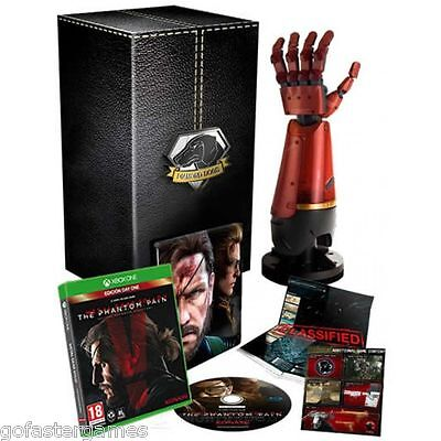 METAL GEAR SOLID V 5 THE PHANTOM PAIN COLLECTOR