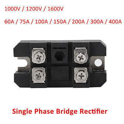 6075100150200300400a 1600v Bridge Rectifier Full Wave Single Phase Diode