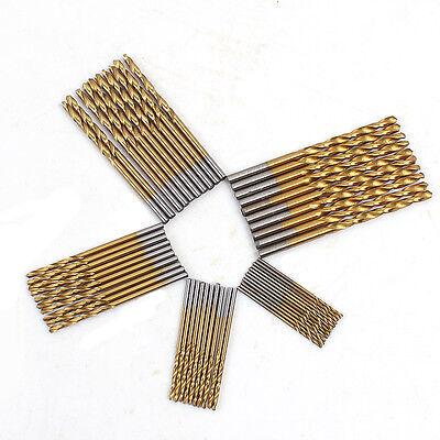 set 50 punte trapano di precisione  50 Pz/set Twist Drill Bit Set legno iron HSS