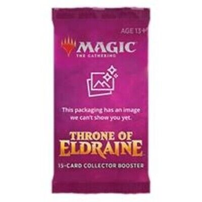 Throne of Eldraine COLLECTOR's Booster PACK Magic the Gathering MTG English