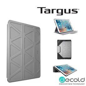 Targus-3D-iPad-Pro-12-9-Protective-Folio-Stand Flip Cover Case-Grey