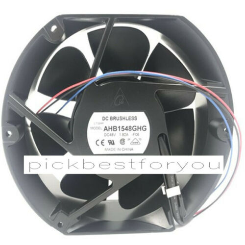 Original DELTA AHB1548GHG-F06 3wire 48V1.85A 172*150*51 Fan 90 Warranty M313D QL