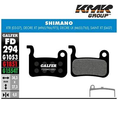 FD294 Almohadillas Frenos Disco GALFER Para Shimano XT Deore - LX