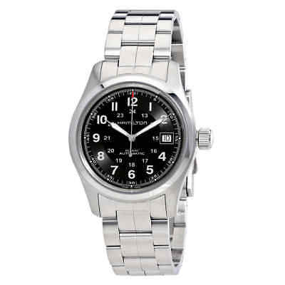 Hamilton Khaki Field Automatic Black Dial Men's Watch H70455133