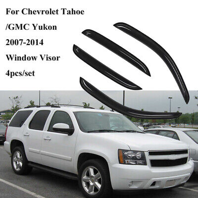 for Chevy Chevrolet Tahoe GMC Yukon 07-14 Window Visors Slim Style Guard Vent