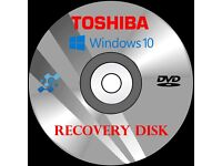 Computer PC Laptop Recovery Repair Disk Disc DVD for any computer Asus Toshiba HP Acer Dell and more