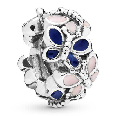 PANDORA Charm Spacer Element 797870 ENMX Butterfly Silber