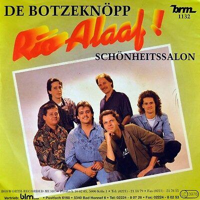 "7"" DE BOTZEKNÖPP Rio Alaaf / Schönheitssalon BRM Köln / Karneval 1989 NEUWERTIG!"