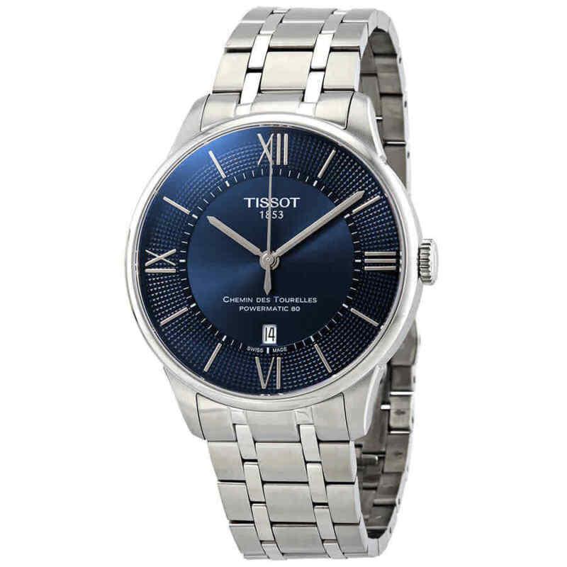Tissot Chemin Des Tourelles Automatic Blue Dial Men Watch T099.407.11.048.00