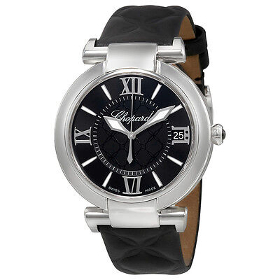 Chopard Imperiale Automatic Black Dial Mens Watch 388531-3005
