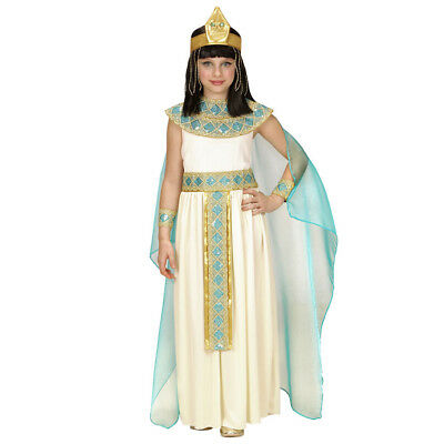 CLEOPATRA KOSTÜM KINDER Karneval Fasching Kleid Mädchen Ägypter Königin # 4942