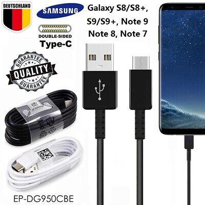 Original Samsung Galaxy S9+ S8+ Note8 9 USB-C Typ C Schnellladekabel