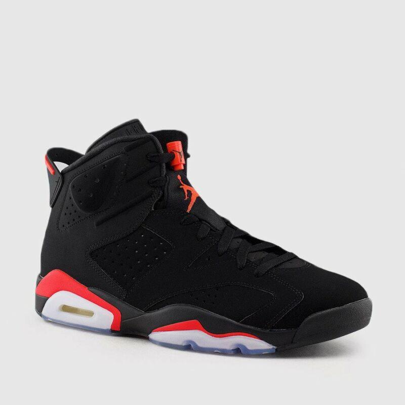 5304546472b6b9 Nike Air Jordan Retro 6 VI BLACK INFRARED OG 2019 Men   GS 384664 ...
