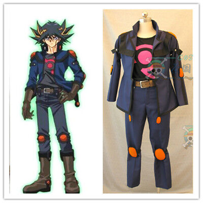 Yu-Gi-Oh! 5D's Fudo Yusei Cosplay Costume Custom Made