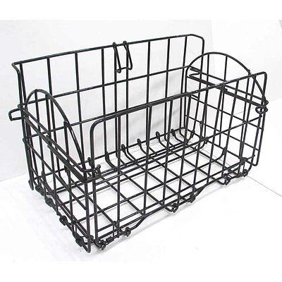 EVO, E-Cargo, Rear rack-side folding basket