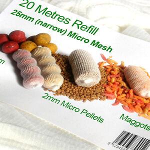 20-Metres-refill-of-25mm-PVA-Micromesh-MICRO-narrow-mesh
