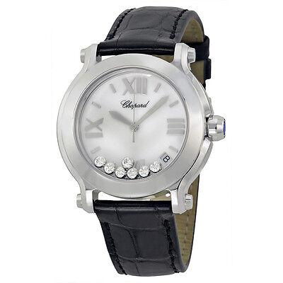 Chopard Happy Sport Stainless Steel Ladies Watch 278475-3001