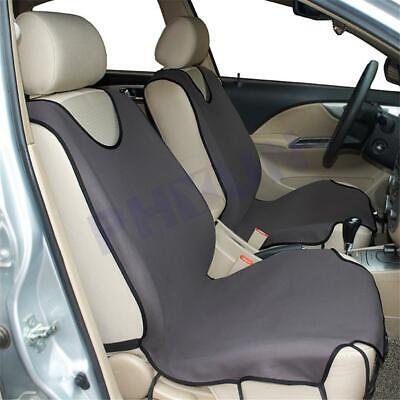 Gray Breathable Car Auto Front Seat Protector Cover For Car Seat T-shirts Style