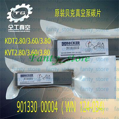 Carbon Vanes Original Becker Compressor Dvt 3.60 3.80 2.80901330 00004 Aa55 Lw