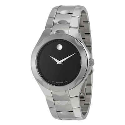 Movado Luno Black Museum Dial Men's Watch 0606378