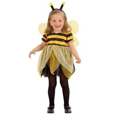 KINDER BIENCHEN KOSTÜM FLÜGEL Mädchen Bienenkostüm Kleinkinder Bienen Kleid 4931