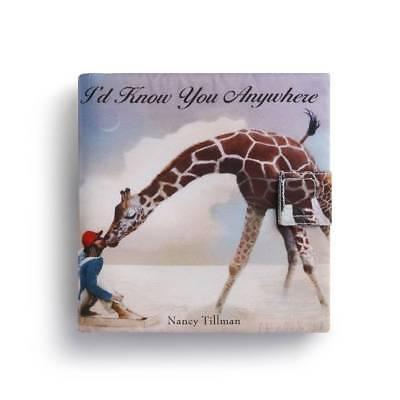 Demdaco Nancy Tillman I'd Know You Anywhere Soft Story Book