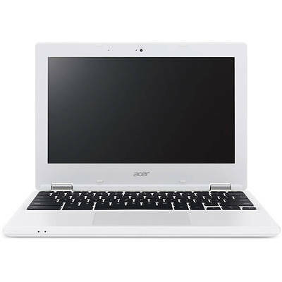 "Acer Denim White 11.6"" CB3-131-C3SZ Chromebook 11 PC with Intel Celeron N2840 D"