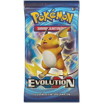 Pokemon XY #12 Evolution - 1 Booster - DE