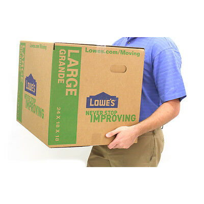 Large Cardboard Box Storage Moving Packing Pack Of 5 Plus A 10 Bonus To Lowes